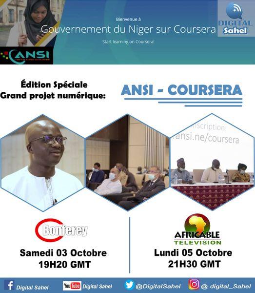 Partenariat ANSI & COURSERA